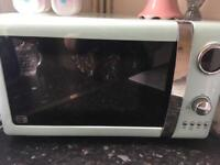 Duck egg blue microwave spares or repairs free