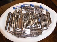 JOB LOT OF OVER 100 DIFFERENT SIZE HSS DRILLS