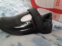 Brand New Kickers Bridie Brogue T Strap Infant (Sizes 5,6,7)