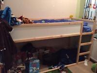 Ikea reversible bed
