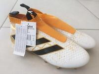 Adidas Ace 16+ pure control football boots, Adidas sock boots.