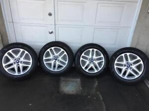 Mags FORD ESCAPE + Pneus Hiver GOODYEAR 235-55-17