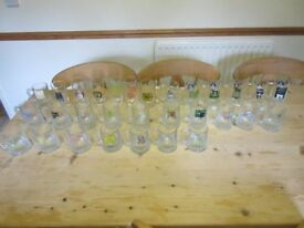 Nottingham Beer Festival Glass collection