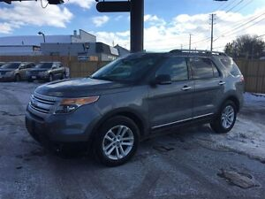 2013 FORD EXPLORER XLT- NAVIGATION SYSTEM, SUNROOF, HEATED SEATS