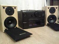PIONEER AMP + ACOUSTIC SOLUTIONS SPEAKERS