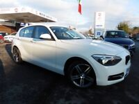BMW 118d SPORT (white) 2014