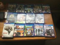Loads new PS4 games for sale from £11 each to £35 each see all pictures ask for prices and vr games