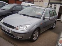 2004 FORD FOCUS ESTATE FULL SERVICE HISTORY MOT JAN 2017 CAMBELT KIT DONE 1 PREVIOUS OWNER £995 ONO