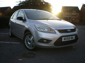 *** 2008 Ford Focus STYLE 100 SELVER 1.6 PETROL MANUL *** FULL SERVICE HISTORY *** 12 MONTHS MOT***