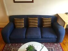 Retro Pub-style lounge/Sofa/couch with 2 Arm chairs Beecroft Hornsby Area Preview