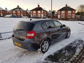 BMW 1 Series 118d Sport 5dr with service history and 2 keys. Cat N