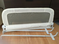 White Bed Rail in excellent condition