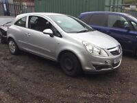VAUXHALL CORSA, BREAKING FOR SPARES,