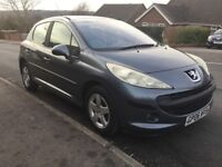 PEUGEOT 207 1.4, ONLY 49,000 MILES, FULL SERVICE HISTORY.