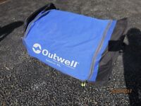 OUTWELL Idaho XL Tent, plus front extension, carpet and footprint
