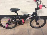 "Girls 20"" BMX Avigo Spin Bike with Stunt Pegs age 7-11yrs"