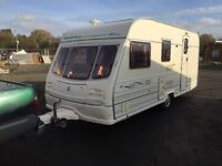 Avondale dart 515/4.berth 2001 17.18ft end changing area with separate toilet and full size walk