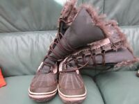girls winter alpine boots with fur