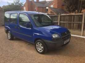Fiat Doblo 1.3 MultiJet 16v Active 5dr, GREAT WELL LOOKED AFTER EXAMPLE , DRIVES VERY WELL, 2 KEYS