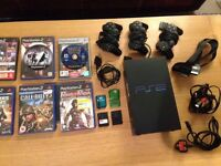 PS2 + GAMES (Sony PlayStation2)