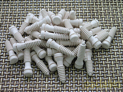 40 Pcs Extra Soft Small Plucker Fingers Plucking Fingers For Quail Partridge Etc