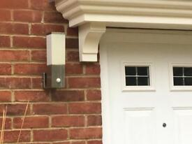 External Wall Light x 2 bargain price at £9