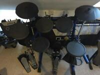 Roland TD-6 Electric Drum Kit (with upgraded bass drum pad)
