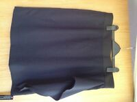 Navy and black pencil skirt. Size 18. Brand new with tags.
