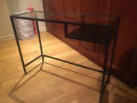 Glass desk - Ikea