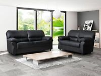 """BEST DEAL"" PU Leather 3 & 2 Seater Sofa ""Order Now"""