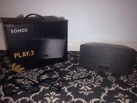 Sonos speaker play 3 wireless wifi