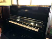 Steinway model K Black Delivery included Uk TUNED A440