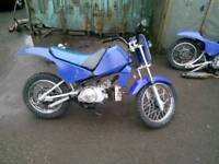 2 py motorcycles. Spares or repaires