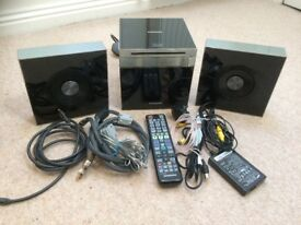 Samsung 2.1CH Blu-ray Home Entertainment System with remote control & Full instruction manual