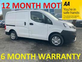 Nissan, NV200, Car Derived Van, 2017, Manual, 1461 (cc)