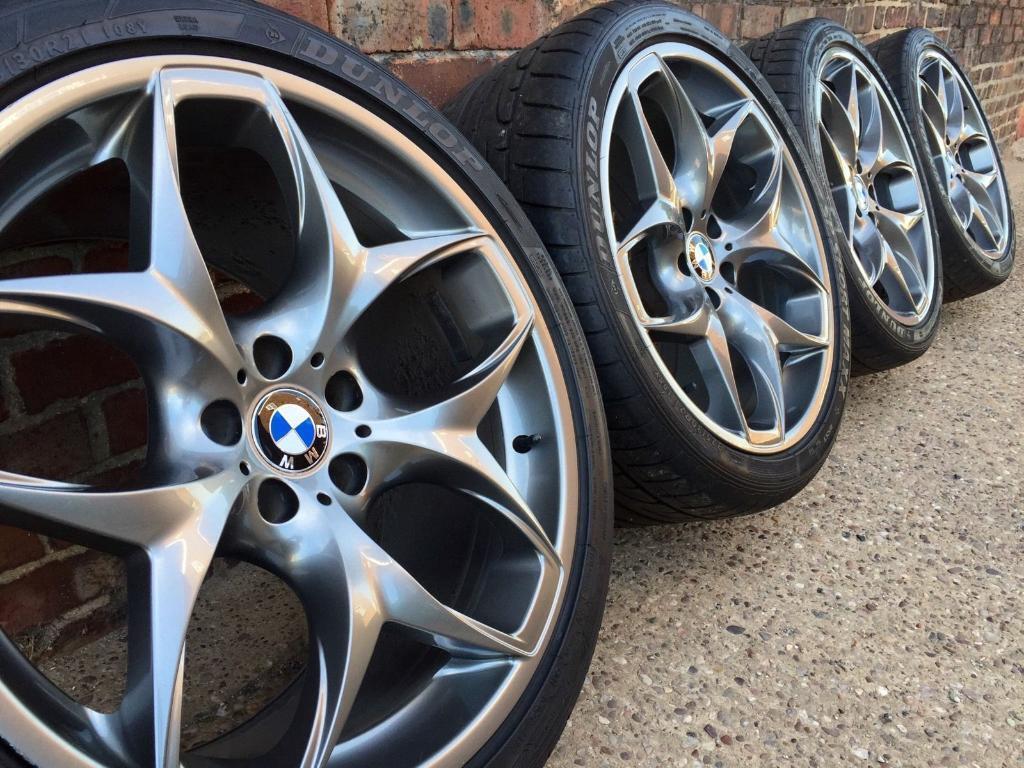 Genuine Bmw X5 X6 Staggered Alloy Wheels 21 Quot E70 E71 E72
