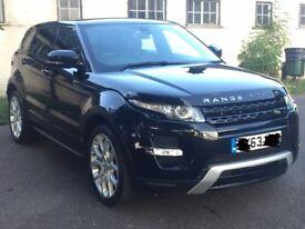 Range Rover Evouqe Dynamic Fully Loaded diesel 2013
