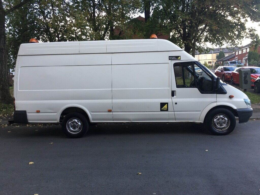 Ford transit 2006 jumbo long wheel base hi top excellent a1 van