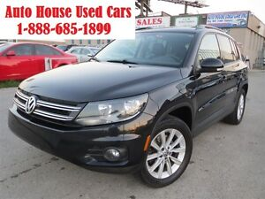 2012 Volkswagen Tiguan 2.0TSI, Highline,4Motion,Leather,Panorami