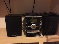 Isymphony stereo with iPod dock