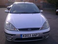 FULL NICE CLEAN DIESEL FORD FOCUS ,WITH ONE YEAR M.O.T TILL 04/03/2018