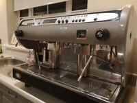 Top spec San Marino coffee machine