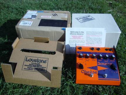 Lovetone Cheese Source (fuzz/overdrive) - made UK (2007) - NOS