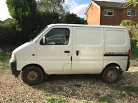 Great little van very clean and tidy for its age