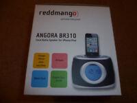 Reddmango Angora BR310 iPod, iPhone 30pin Dock Radio Alarm Clock