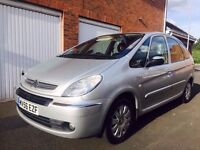2006 56 Citroen Xsara Picasso Exclusive 1.6 HDI Diesel FSH Long MOT not meriva zafira touran