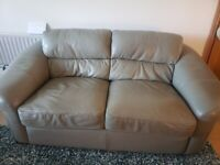 Gary leather sofa and chair