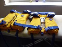 'Crewsaver' Childrens life jackets