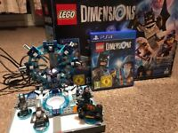 Lego dimensions PS4 starter pack and ghostbusters full story