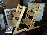 Wooden Toddlers High Chair (2)